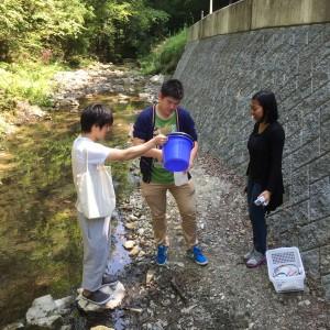 多田銀山周辺サンプリングツアー(2015.5.27, 三田)