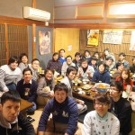 新4年生研究室配属歓迎飲み会 (2016.3.4, 三田)