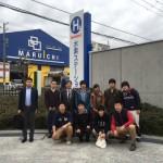 壷井研と合同で岩谷産業を訪問(2015.11.17, 尼崎)