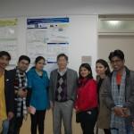 インドAmity 大学の修士学生が来研(2017. 3. 2)