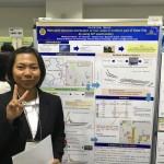 日本分析化学年会第65会にて、ナンダさんがポスター発表をしました。