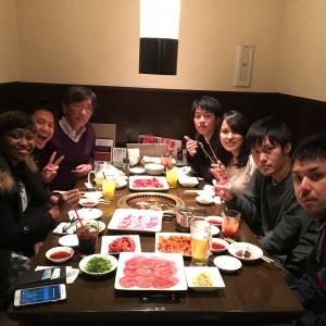 新4回生焼肉歓迎会を行いました(2017.4.10, 1カルビ)