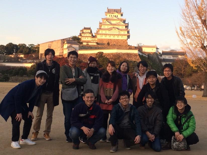 秋の遠足(11月)@姫路城