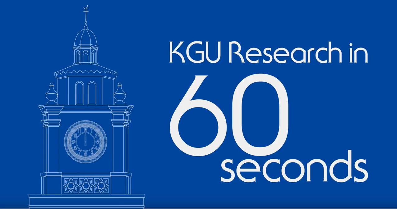 研究室紹介動画【KGU Research in 60 seconds】