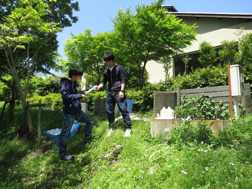 2015.05.13 三重県松阪市飯高町での温泉源泉調査