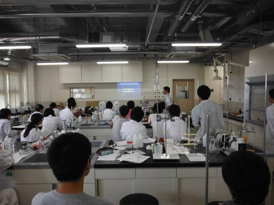 2015.08 地学実験A(理工学部3年生対象)、水質測定の原理講義