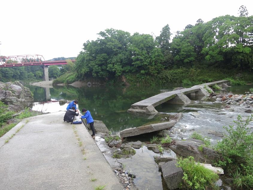 2016.05.12 三重県中部地域の陸水調査2016を実施