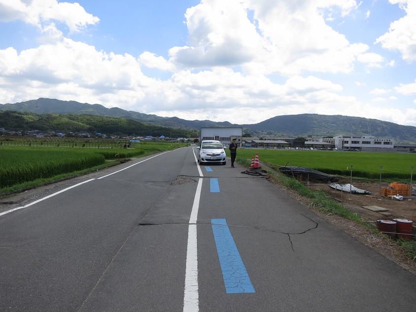 2016.08.28 布田川断層を視察