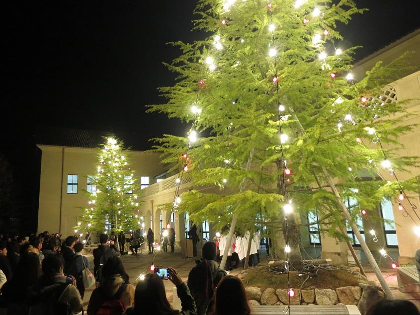 2016.11.28 クリスマスツリー点灯式@三田