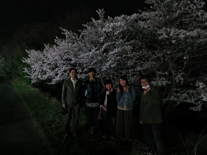 2017.04.10 研究室での花見@富士が丘