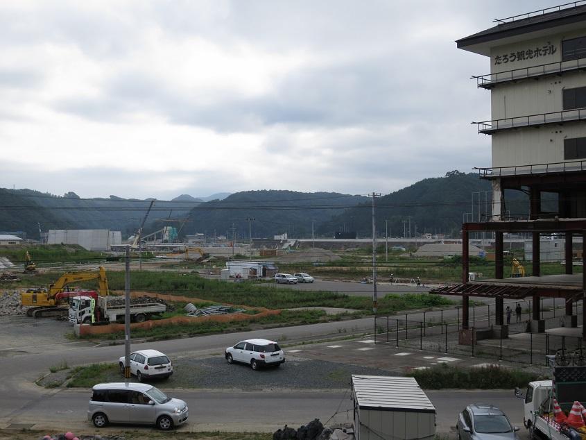 2017.08.04 田老漁港を望む