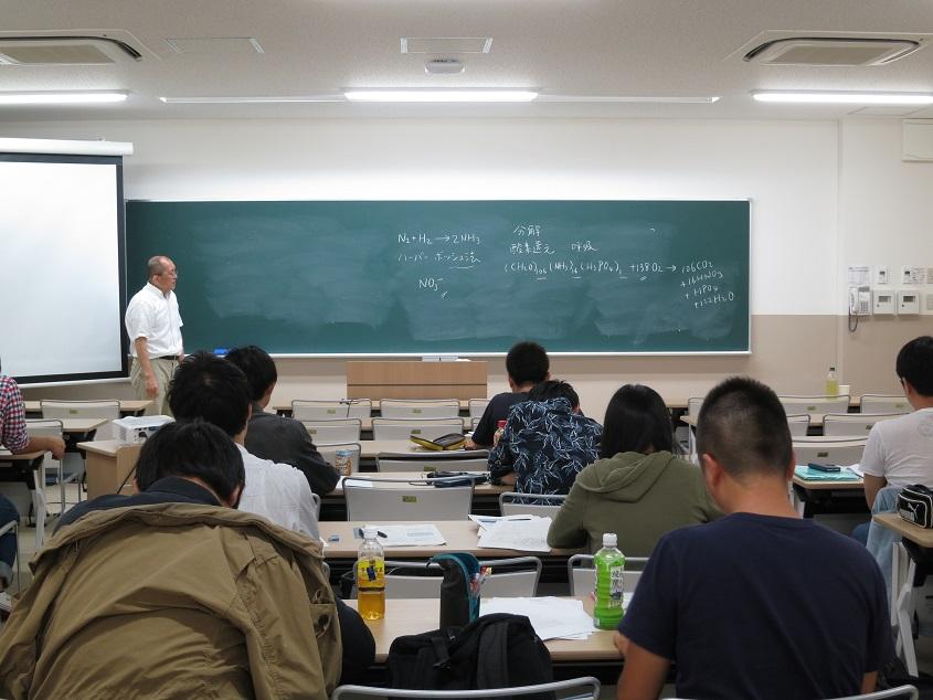 2017.08.30 京大化研宗林教授による集中講義